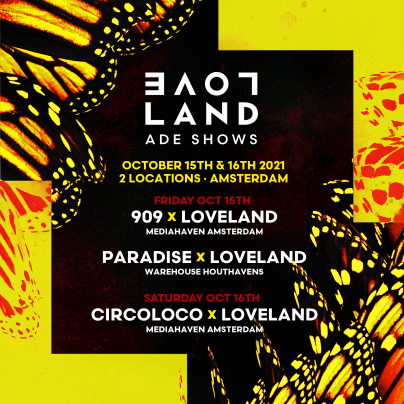 afbeelding Loveland reveals three top-class ADE shows