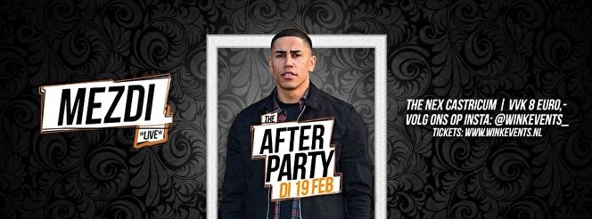 flyer The Afterparty