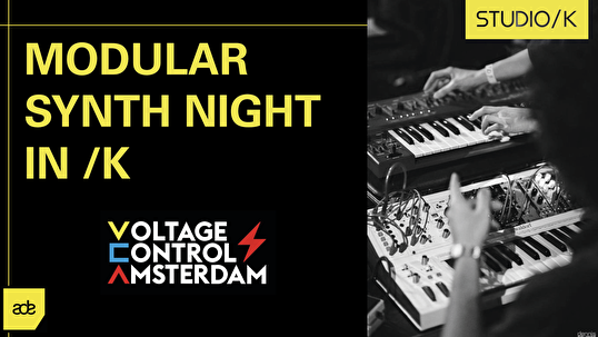 flyer Modular Synth Night