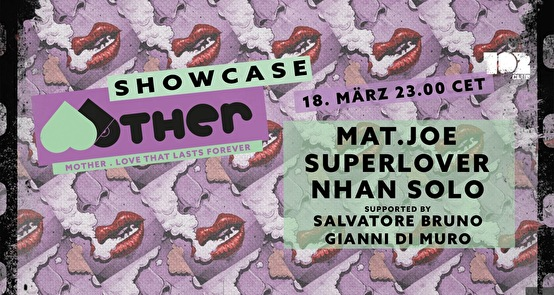 flyer Mother Records Showcase