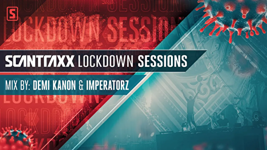 flyer Scantraxx Lockdown Sessions