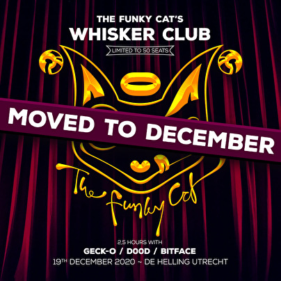 flyer The Funky Cat's Whisker Club