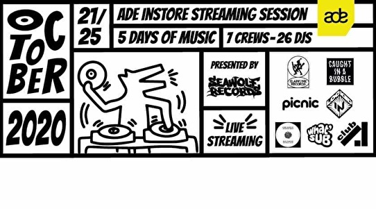 flyer ADE Instore Streaming Session